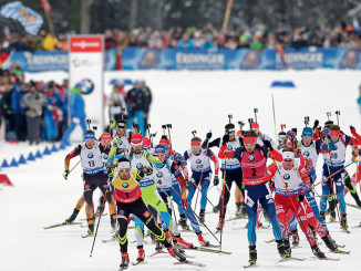 Українська збірна піднялася на 4-е місце в загальному командному заліку на Чемпіонаті Світу з біатлону