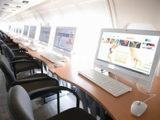 У Мексиці Боїнг 727 перетворився в бібліотеку