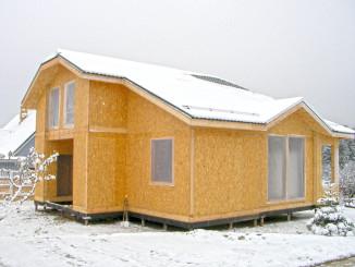 Структурні ізольовані панелі в будівництві