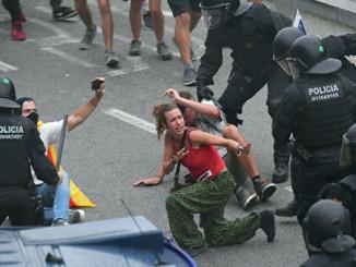 В результаті протестів в Іспанії постраждали щонайменше 37 людей