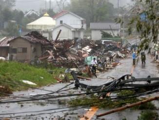 В результаті тайфуну Хагібіс в Японії, щонайменше 5 загиблих і 15 зниклих безвісти
