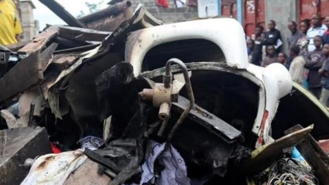 Понад два десятки людей загинули в результаті катастрофи літака в Конго